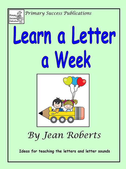 Learn a Letter a Week