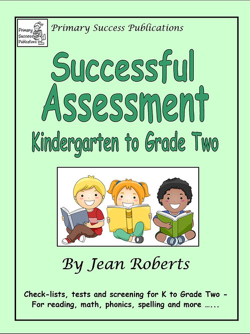 Successful Assessment - K to 2