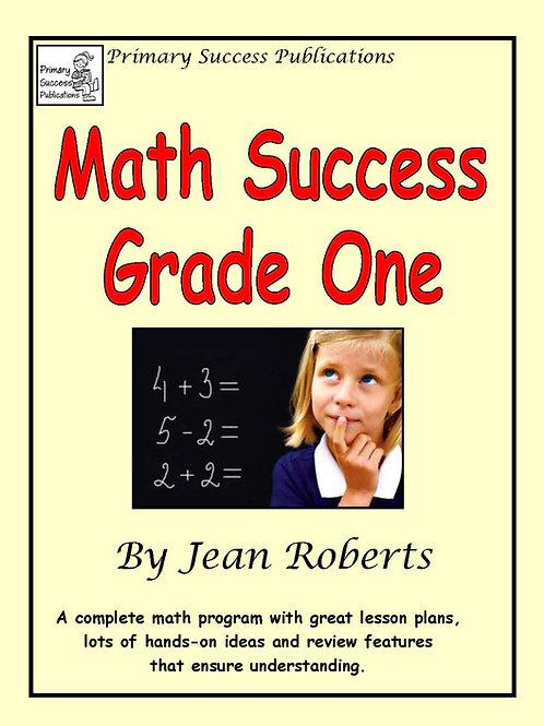Math Success Grade One