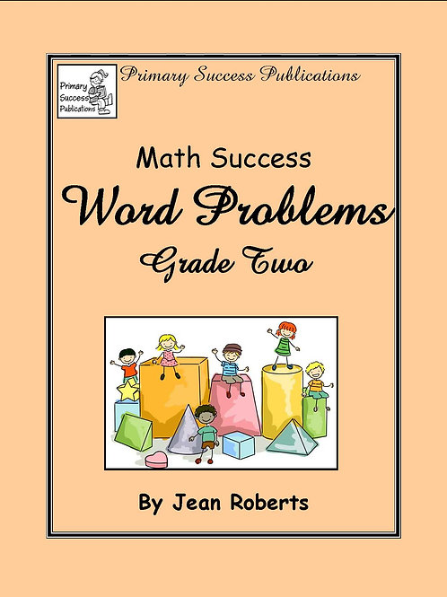 Math Word Problems - Grade Two