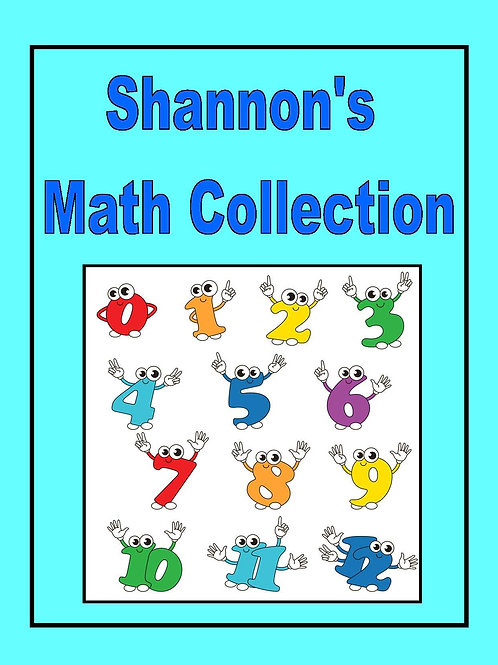 Shannon's Math Collection