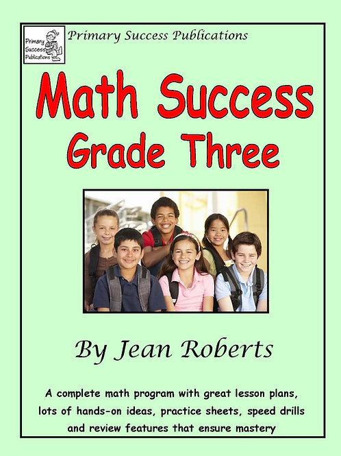 Math Success Grade Three