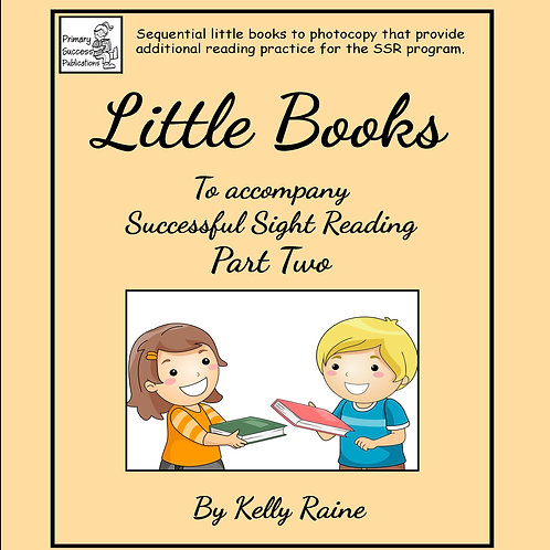 Little Books- to accompany SSR - Part Two