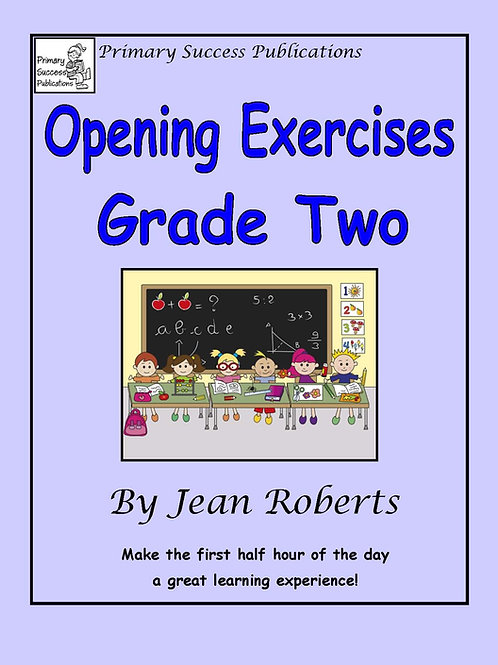 Opening Exercises - Grade Two