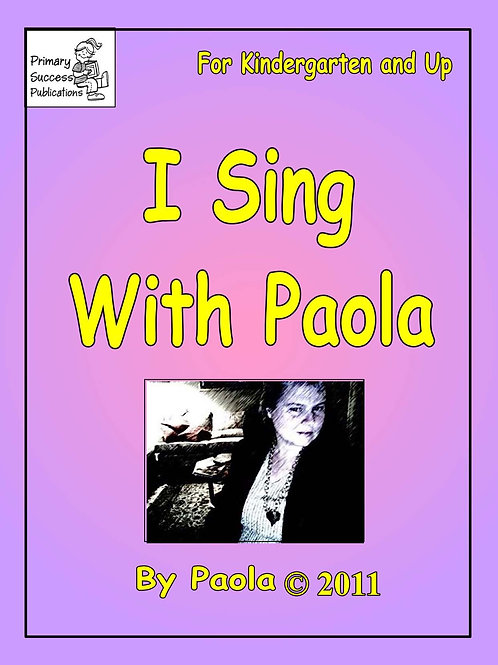 I Sing With Paola