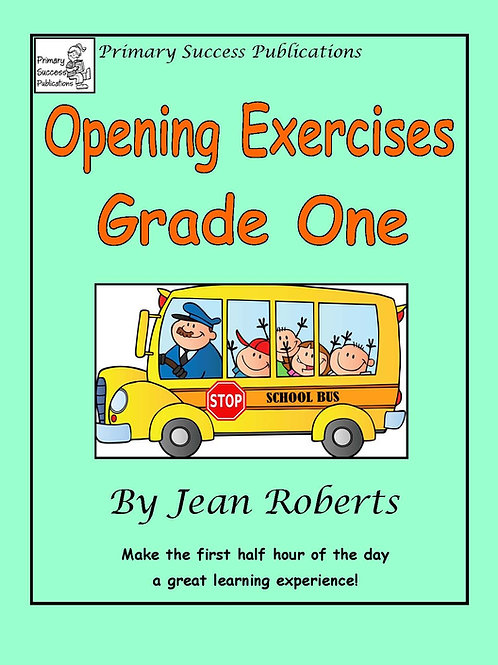 Opening Exercises - Grade One
