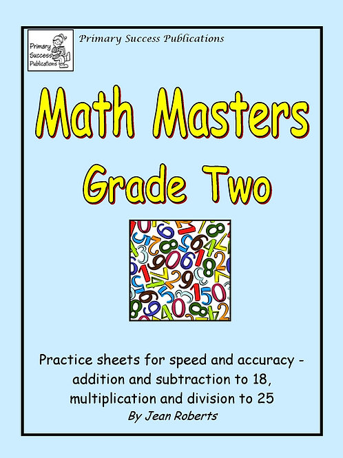 Math Masters - Grade Two
