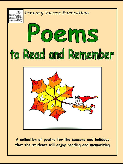 Poems to Read and Remember