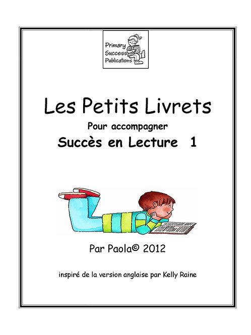Succès en Lecture 1 - Petits Livrets