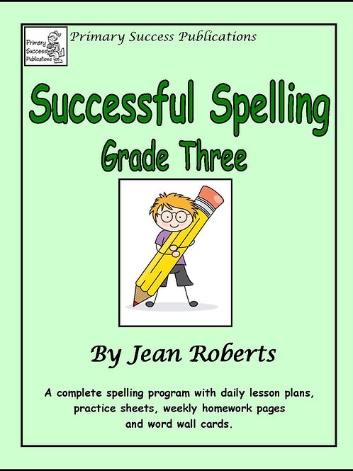 Successful Spelling - Grade Three