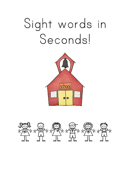 Sight Words in Seconds