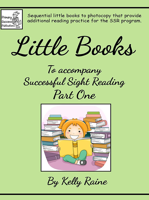 Little Books - to accompany SSR - Part 1