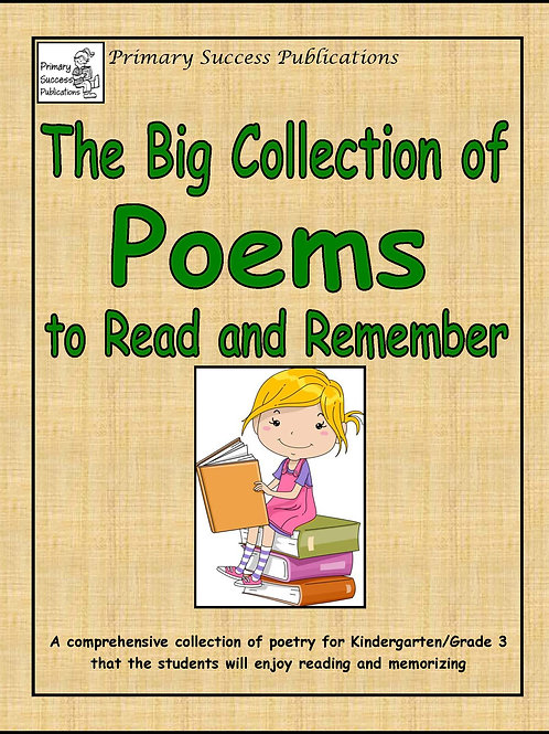 The Big Collection of Poems to Read and Remember