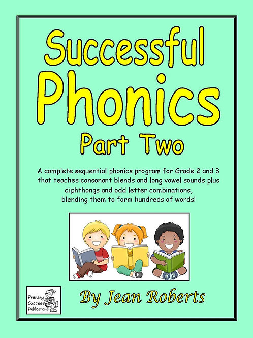 Successful Phonics - Part Two