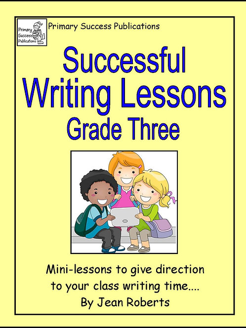 Successful Writing Lessons - Grade Three