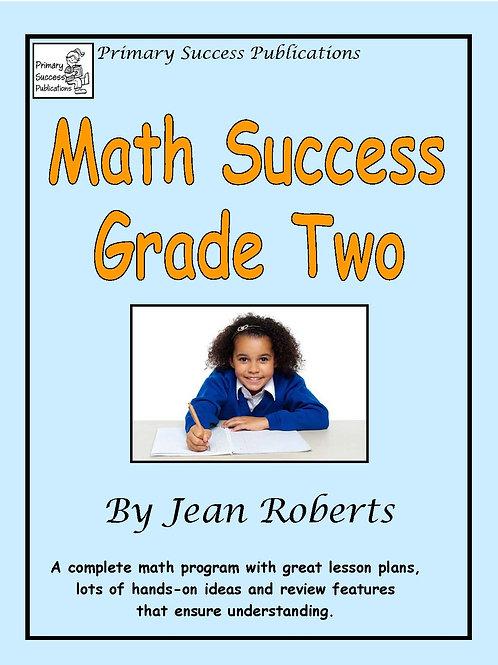 Math Success Grade Two