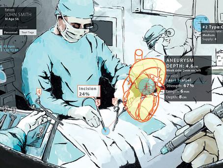 Cirurgias mais seguras com a realidade aumentada
