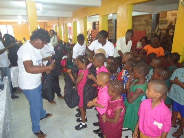 Bags distribution Ceremony for Sierra Leone6