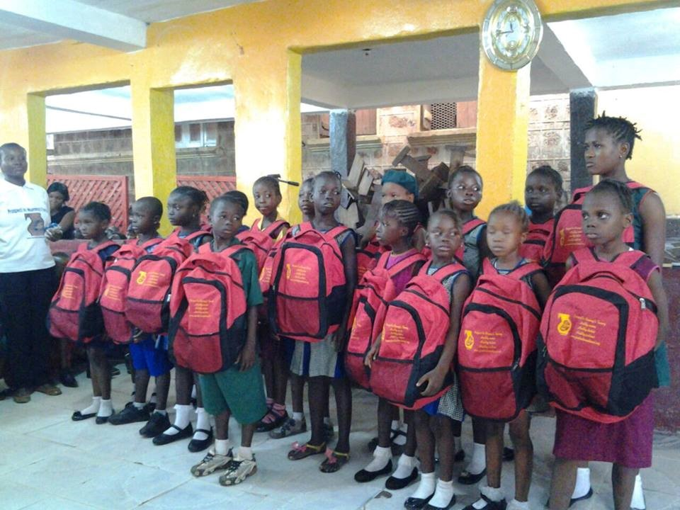 Bags distribution Ceremony for Sierra Leone9