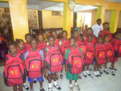 Bags distribution Ceremony for Sierra Leone8
