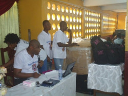 Bags distribution Ceremony for Sierra Leone5