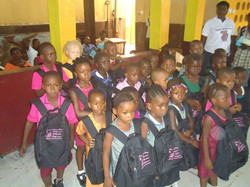 Bags distribution Ceremony for Sierra Leone7