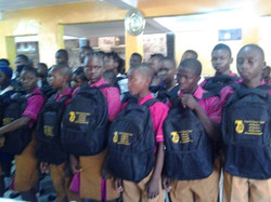 Bags distribution Ceremony for Sierra Leone11