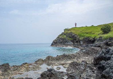 Sao Tome - blue lagoon