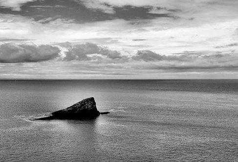 Rocher mer Bretagne