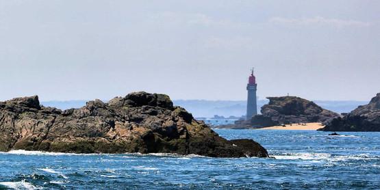 Rocher et Phare - Bretagne
