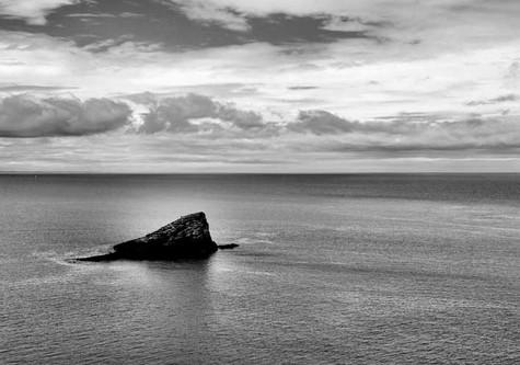 Rocher dans la mer - Bretagne
