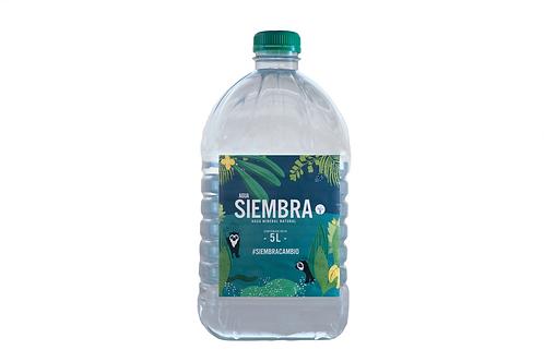 Agua Siembra sin gas 5 Lt