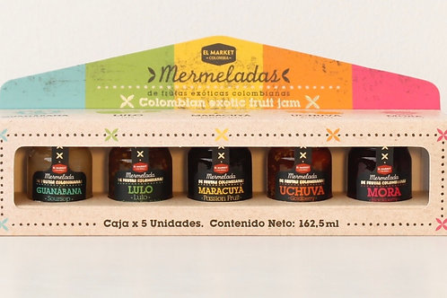 "Set 5 Mermeladas ""El Market"""