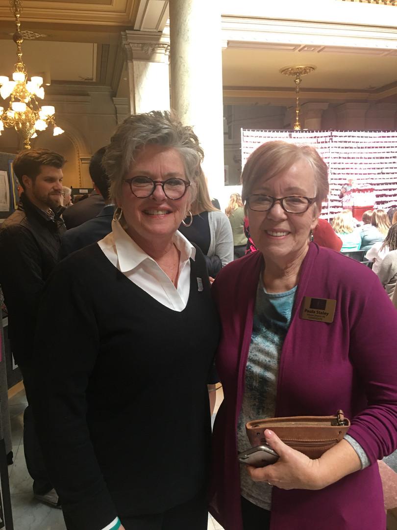 Teresa Horth Krueger and Paula Staley