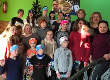 Різдвяна зустріч із дітьми Кропивниччини