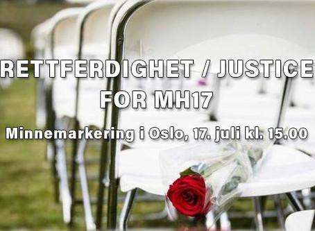 Rettferdighet / Justice for MH17