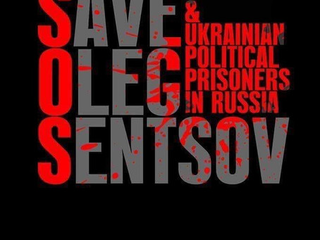 #FreeSentsov Og Andre Ukrainske Politiske Fanger I Russland