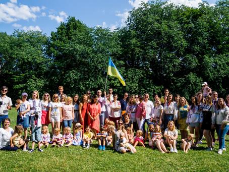 В Осло День Конституції України відзначили пікніком/Feiring av Ukrainas grunnlovsdag