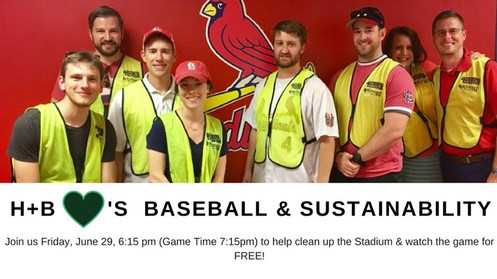 H+B loves Baseball & Sustainability