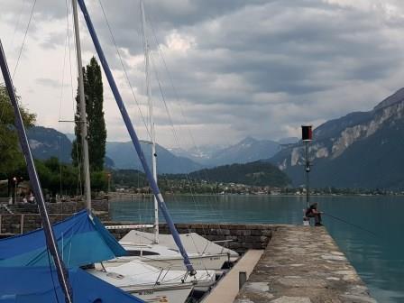 나의 스위스 - 조윤희씨의 브리엔츠 호수,기쓰바흐 폭포