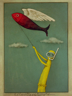 The yellow diver