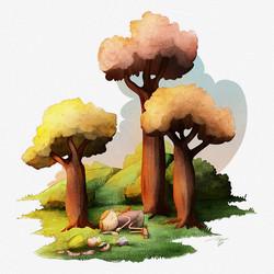 Various children illustrations
