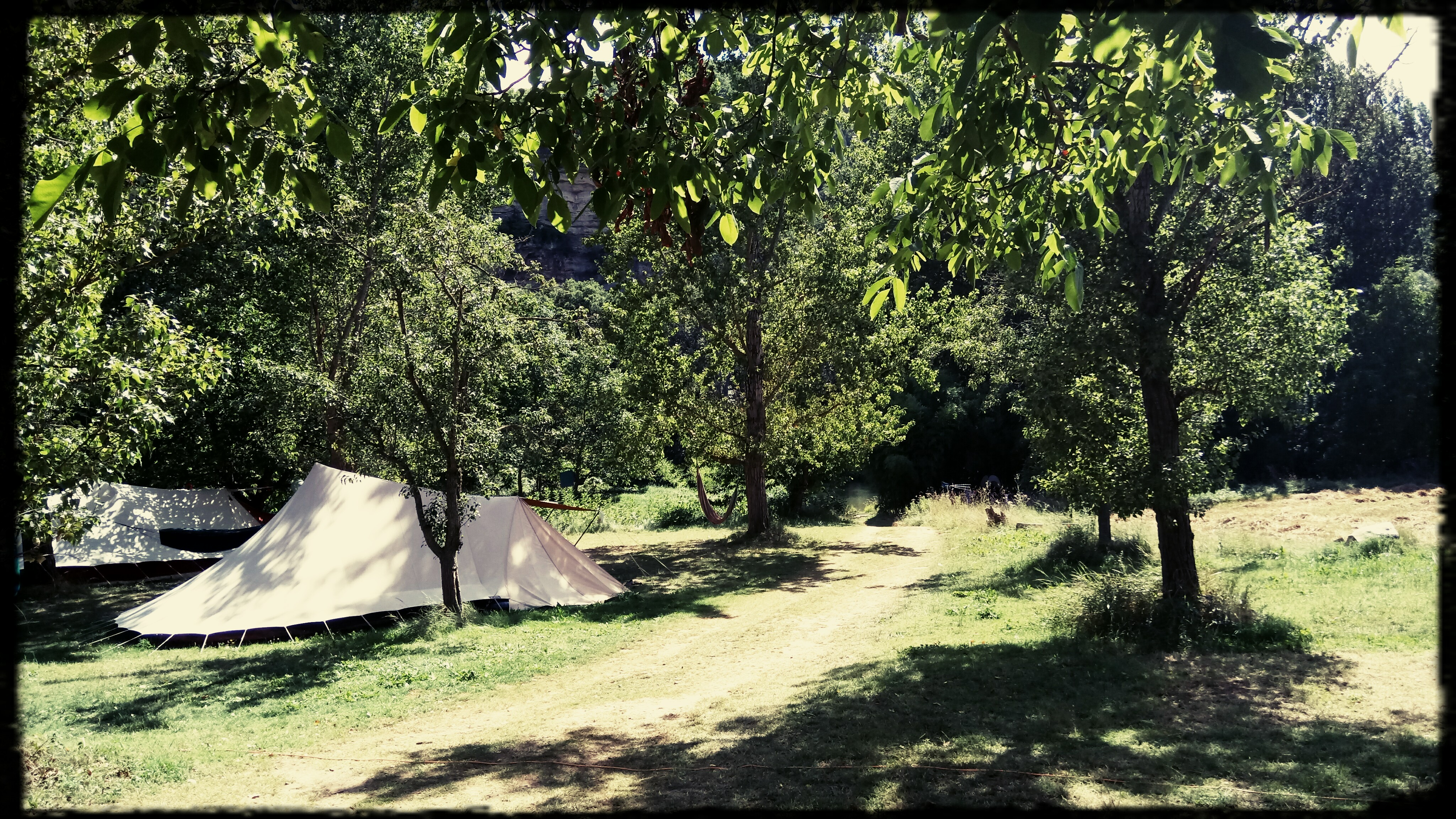 camping canoé