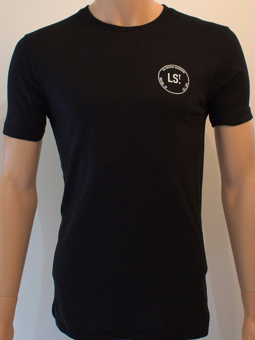 Black Lusso Established Tee