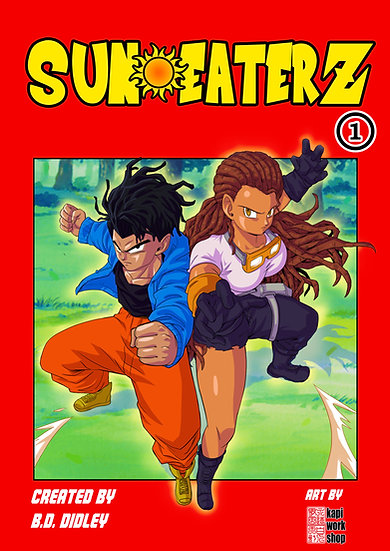 Sun Eaterz #1 (Physical)