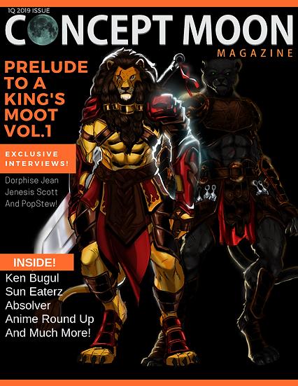 Concept Moon Magazine #1 (Digital)