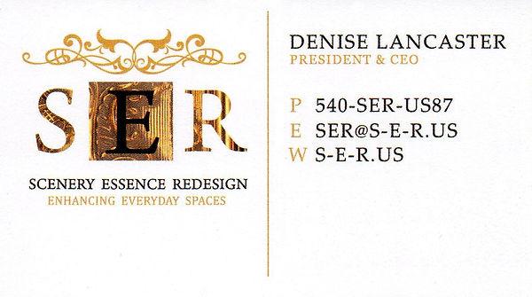 scanned business card image front SER LT
