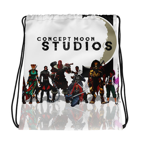 Assorted Drawstring Book Bags