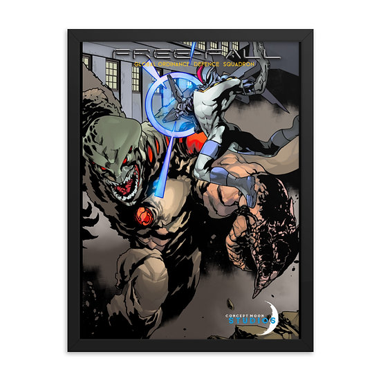 Free-Fall: G.OD.S. Into Battle! Framed Pin-Up