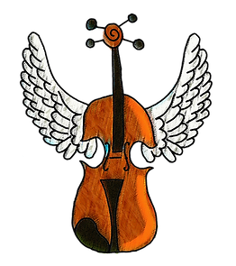 Violín alado, violín con alas, violín colombiano, colombian violin